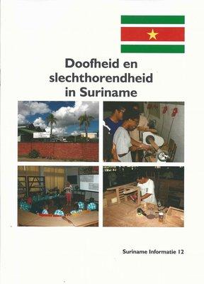 Doofheid en slechthorendheid in Suriname - Jan Veltkamp - 9789081946711